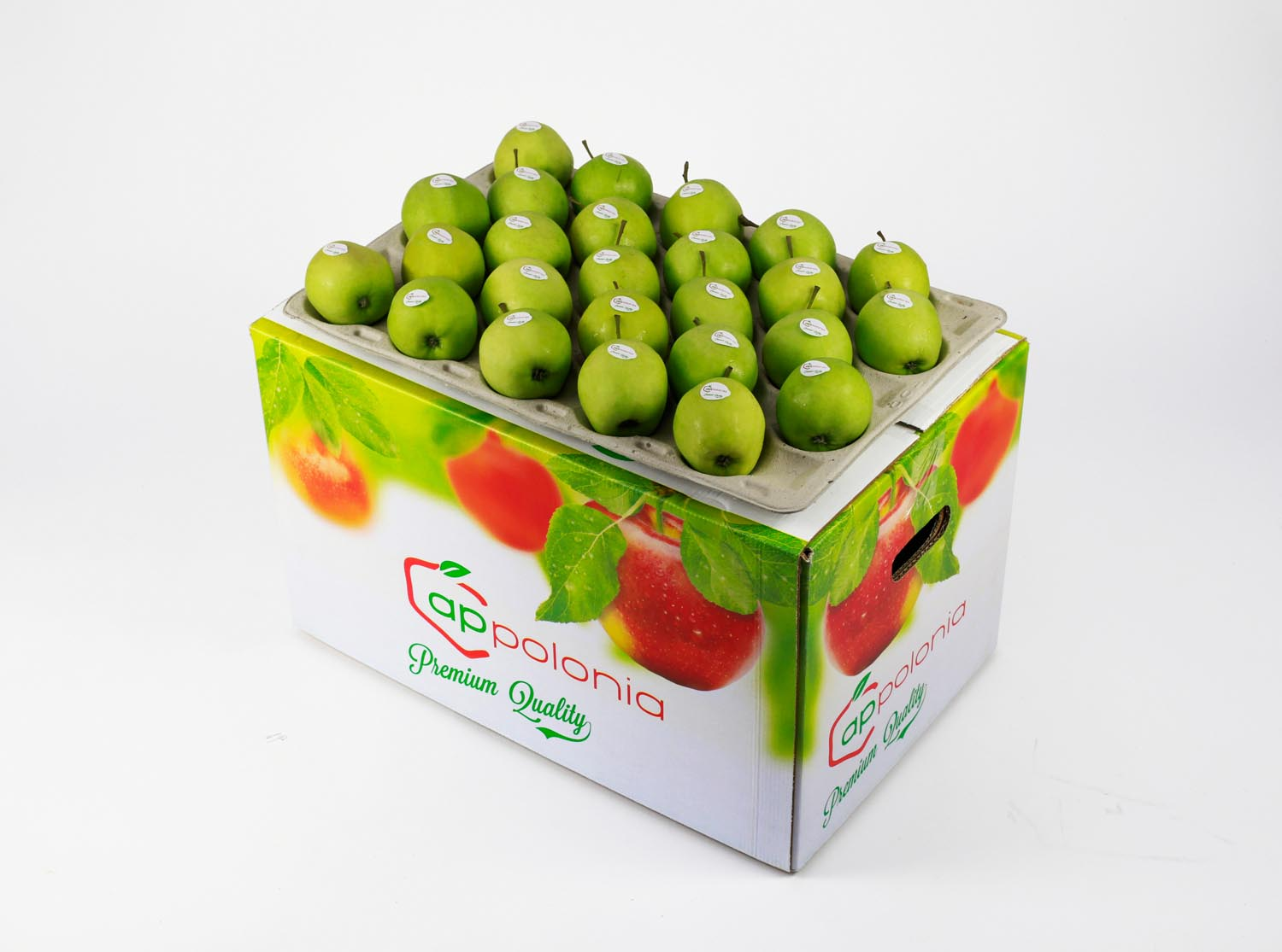 1 Golden Delicious  bushel 18 kg stickery Appolonia