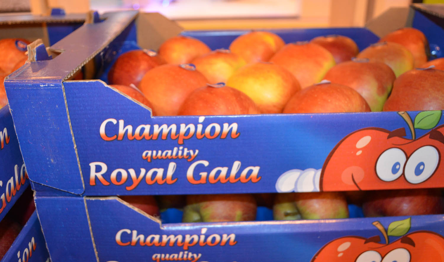 3 Champion quality Royal Gala 4 kg