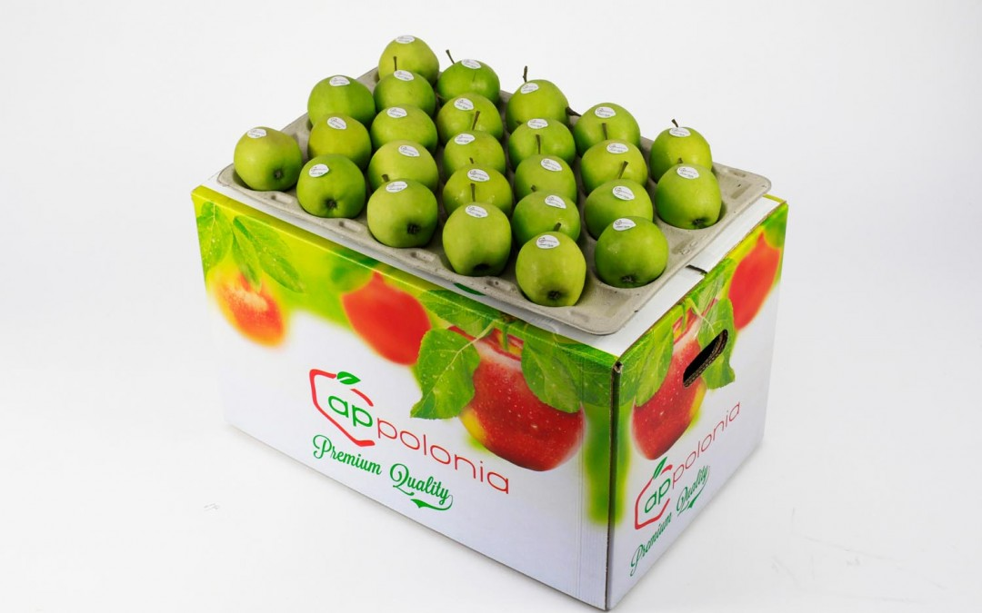 9 Golden Delicious  bushel 18 kg stickery Appolonia